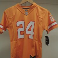 NFL Tampa Bay Buccaneers #24 On Field Football Jersey New Youth SMALL (8)