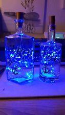 Dekoflaschen, Leuchtflasche,