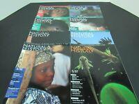 8 Natural History Magazines 1996 - 1997