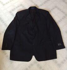 Enrico Corsini Black Three Button men's Suit jacket 52 R Super 100s Wool