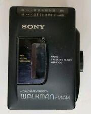 Sony Walkman Wm-Fx30 Cassette/Fm & Am Radio for parts or repair