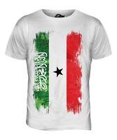 Somalia Bandera Grunge Hombre Camiseta Top Regalo de Fútbol Camiseta Ropa Jersey