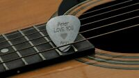 Custom Engraved Guitar Pick Plectrum GUITARIST Personalised  BIRTHDAY GIFT