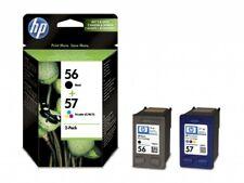 HP 56 57 Black & Colour Genuine Original Ink Cartridge TWIN PACK SA342AE .