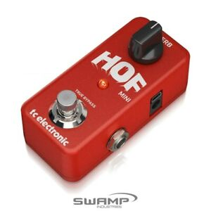 TC Electronic Hall of Fame Mini Reverb Ultra-Compact High-Quality Reverb Pedal