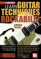 Lick Library- Learn To Play Rockabilly Guitar Techniques/ Method Dvd New!