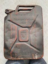 Fantastic original WW2 1943 dated German Jerrycan / Petrol can - Made by WKO