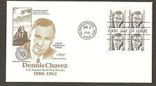 #2186 35c Dennis Chavez - Artmaster FDCB4