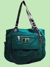 JUICY COUTURE MALIBU Green Nylon Baby Tote Bag Msrp $248.00