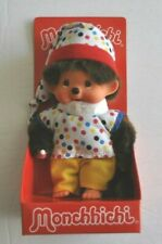 MONCHHICHI 7 inch DOLL Boy w/ PolkaDot Suit MINT in BOX Sekiguchi 2016