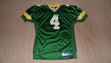 Green Bay Packers Green #4 Favre Authentic PRO Reebok Men's Size 50 NFL Jersey
