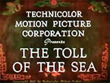 TOLL OF THE SEA, 1922, ANNA MAY WONG silent Colour drama w/music: DVD-R Region 2