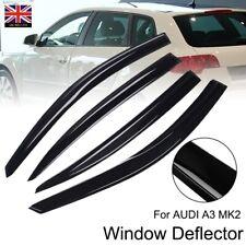 AUDI A3 MK2 5-door 2004-2012 Sportback Hatchback 4pc Window Wind Deflectors