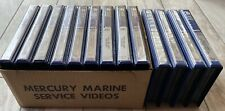 1995~1996~1997 Qcare Mercury Marine Video Series Service Training Vhs Tapes~Lot