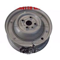 "Wheel Rim Vespa Complete 10"" 50-90cc 2,3/4 X 9 Full Grey 1965-70 AUD"