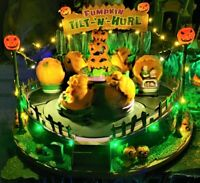Lemax Spooky Town PUMPKIN TILT-N-HURL  #94487 Halloween Village Sights & Sound