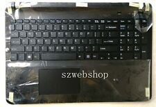 New US backlit keyboard sony vaio SVF152 SVF153 SVF152C29L touchpad cover black