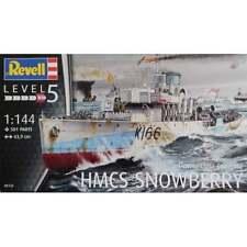 Revell 1:144 Scale Flower Class Corvette HMCS Snowberry Model Ship Kit - 05132