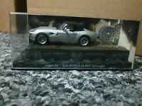 SUPERB 1/43 DIECAST JAMES BOND 007 BMW Z8 IN SILVER FROM THE WORLD IS NOT ENOUGH