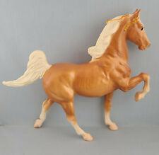 Breyer Glossy Palomino 5 Gaiter Saddlebred Model Horse