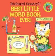 Richard Scarry's Best Little Word Book Ever! von Richard Scarry (2016, Taschenbuch)