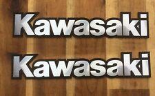 2 Stück Tankemblem Kawasaki - KEINE billigen Aufkleber! sehr schick