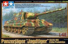 1:48 TAMIYA KIT CARRO GERMAN DESTROYER JAGDTIGER EARLY PRODUCTION ART 32569