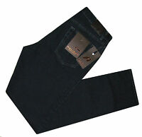 Pantalone uomo jeans TAGLIA 60 holiday cotone elasticizzato nero LINHAY