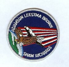 """COLUMBIA NASA SPACE SHUTTLE STS-28 NEW 3"""" PATCH SHAW RICHARDS ADAMSON LEESTMA"""