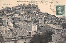 CPA 13 ROGNES LE TREMBLEMENT DE TERRE APRES LE TREMBLEMENT 1909