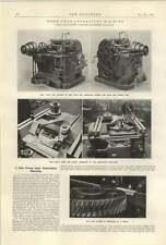 1922 Owen Gold Leaf Electrocope worm gear Generating Machine Smith Coventry