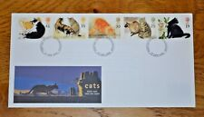 January 1995 First Day Cover: Cats