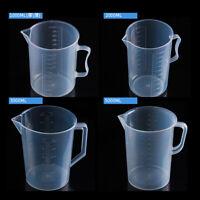 1000-5000ML Plastic Measuring Cup Jug Kitchen Pour Spout Surface for Cooking