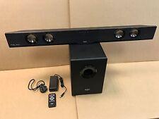 S48 utilizado BUSH DTS Barra de sonido 200W 2.1 Con Subwoofer Y Bluetooth + Control Remoto (A6S)