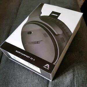 Bose QC II headphones