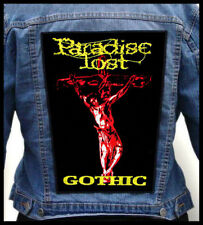 PARADISE LOST - Gothic  --- Huge Jacket Back Patch Backpatch