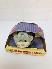 Vintage 80s Kennel Kittee Kuddlee Kitty Cat Toy Tara Toys
