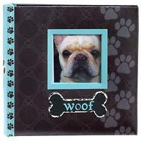 Malden International Designs Woof Photo Album | Holds 80 4 x 6 Pictures