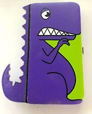 Purple Dinosaur  Hinge Wallet Purse New