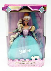 1994 Childrens Collector Series 1st Ed BARBIE AS RAPUNZEL Doll NEW w Damaged Box