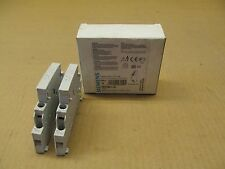 2 Nib Siemens 3Rv1901-1A 3Rv19011A Contact Block 1No 1Nc (10 Available)
