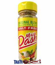 Mrs Dash Original Blend Seasoning Salt Free Larger 191g Jar