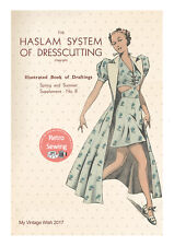 The Haslam System of Dresscutting No.8 - 1930's