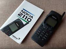 ≣ old NOKIA 2110 vintage rare phone mobile WORKING