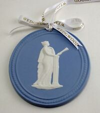 Wedgwood Ornament Blue Jasperware 2013 Annual Muse Cameo Nib