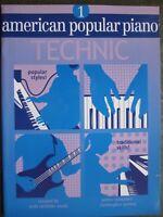 American Popular Piano Technic Book 1 by Christopher Norton *NEW*