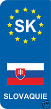 2 Stickers Europe SLOVAQUIE SK