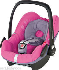 Siège auto Pebble Bébé Confort vegetal Pink