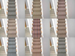 Stripe Stair Carpets Extra Long Wide Hall Runners Very Narrow For Stairways Rugs