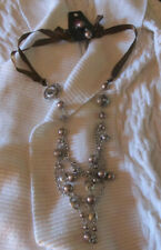 NEW NWT Paparazzi Costume Jewerly Long Necklace with matching Earrings